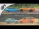 BeamNG Drive VS Real Life DAMAGE CRASH TEST COMPARISON Soft Body Physics