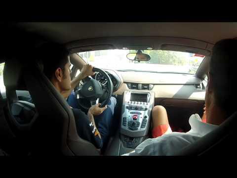 Lamborghini Aventador LP700-4 Test Drive In Maranello 1