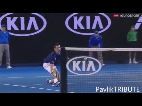 Новак ДЖОКОВИЧ на Australian Open 2016 (highlights)