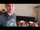 Съёмки рекорда по скоростному поеданию бургеров
