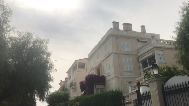 Дом Каролины и дом Стефании. Монако