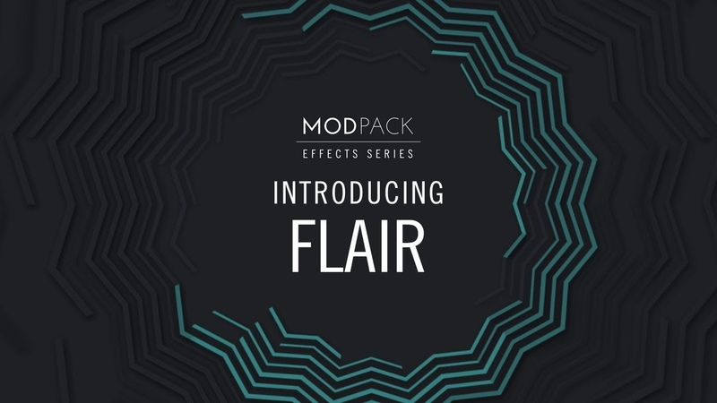 Introducing FLAIR from EFFECTS SERIES MOD PACK Native Instruments