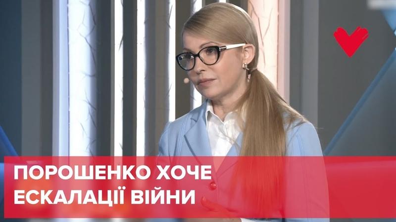 Порошенко має намір ініціювати ескалацію війни в Україні заради збереження своєї влади