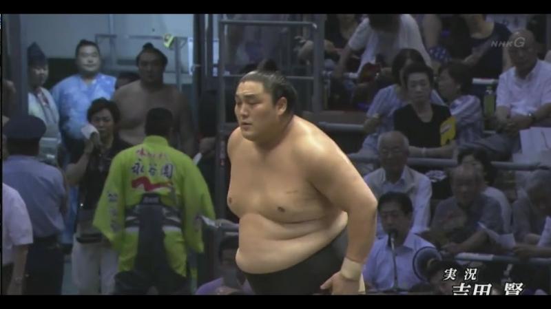大相撲 幕内の全取組「名古屋場所 八日目」