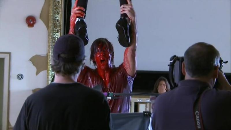 Съёмки фильма Поворот не туда 4 Кровавое Начало (Расширенная версия).