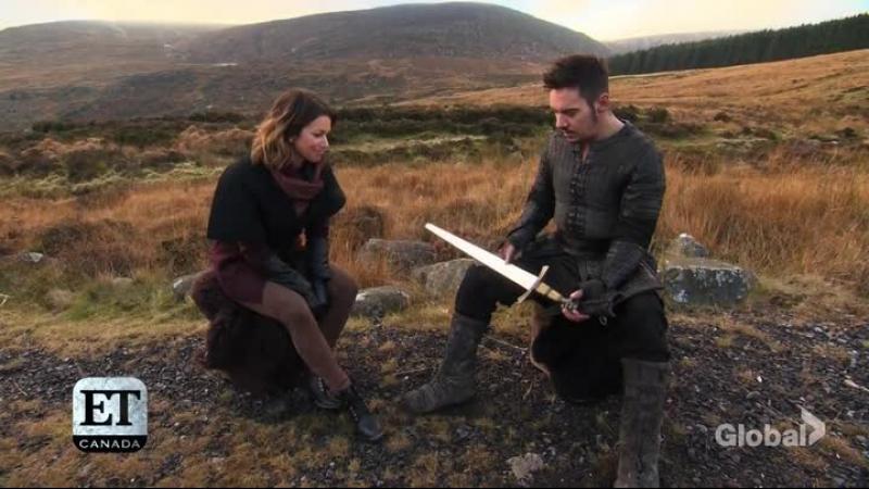 репортаж со сьемочной площадки сериала Викинги / Vikings (2017)