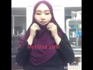 Готовый хиджаб - классик