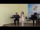 АНЯ МОРОЗОВА - 8 лет - 1 год обучения- Кларнет ми бем