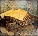 Давным-давно сгорела большая библиотека, и уцелела лишь одна рукопись.