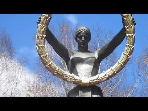 СССР. 9 мая. День Великой Победы. Родина - мать в Нижнем Новгороде.