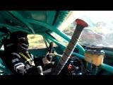 hillclimb drifting in dodge charger 1968