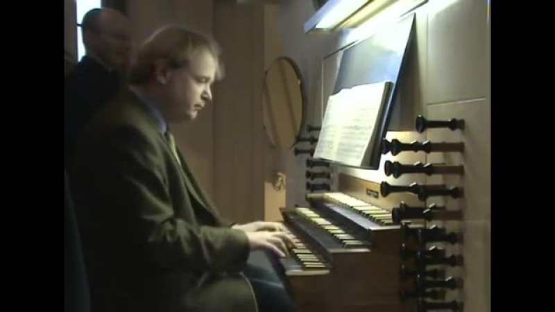 539 J. S. Bach - Prelude and Fugue in D minor, BWV 539 - Arjen Leistra