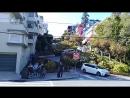 Lombard Street самая извилистая улица мира