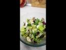 Салат, который я вчера готовила svk/saxarvnorme
