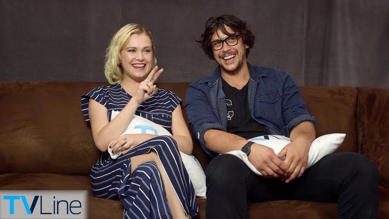 Eliza Taylor Bob Morley On The 100 Relationship, Season 5 Finale | Comic-Con 2018 | TVLine