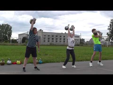 Гиревое жонглирование и многое другое
