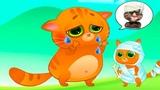 Суровый КОТИК БУБУ #21 Бубу в цирке Мультик ИГРА про котят #УШАСТИК KIDS
