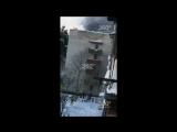 Пожар вынудил жильцов прыгать из окон в подмосковном Раменском