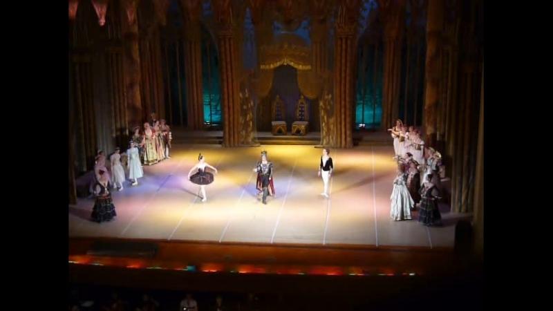 Лебединое озеро Сцена появления Ротбарта и Одиллии Испанский танец Сцена роковой ошибки принца