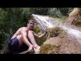 купание водопад. купель леденая))