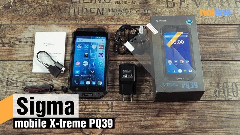 Sigma mobile X treme PQ39 — обзор защищенного смартфона с емким аккумулятором