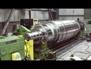 Dangerous Biggest Heavy Duty Lathe Machine Work, Fastest CNC Lathe Machine Modern Technology