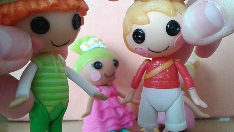 Лалалупси Жизнь Золушки 1 серия Lalaloopsy Mini мультик с игрушками cartoon