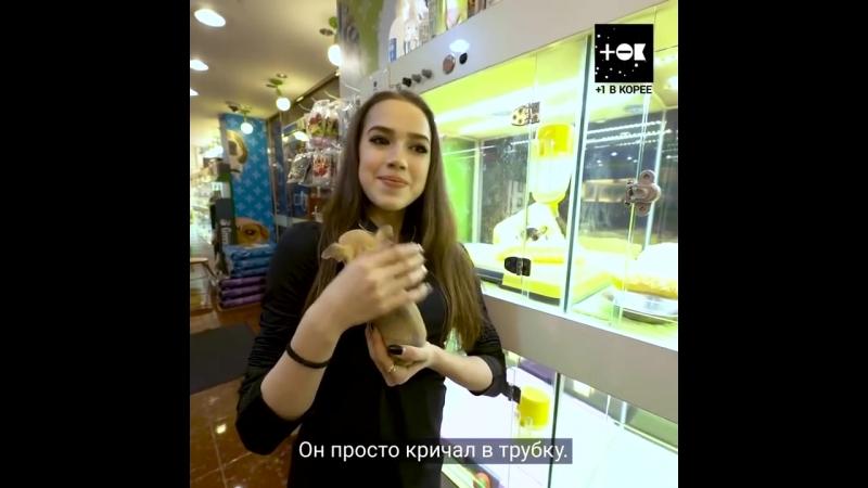 Алина Загитова, Рита Мамун и щеночки- Alina Zagitova Rita Mamun