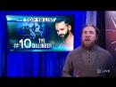 دانيال براين يكشف ترتيب نجوم و نجمات الاسبوع في سماكداون - 6 فبراير 2018 - WWE