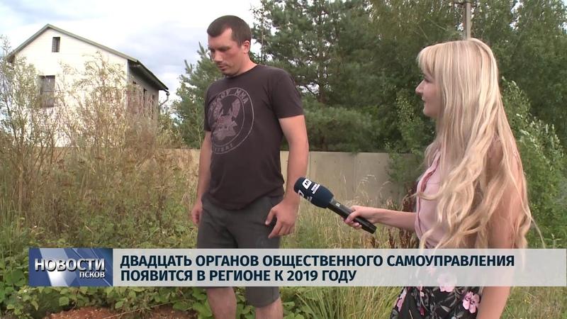 Новости Псков 08.08.2018 20 органов общественного самоуправления появится в регионе к 2019 году