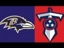 NFL 2017-2018  Week 09  05.11.2017  Baltimore Ravens @ Tennessee Titans