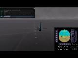 Самолет  Boeing 738 выкатился (запись черного ящика)