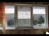 Рулонные шторы Болгарская роза кухня Сикейроса 6к1