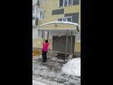 -40 градусов на улице. кипяток и мороз