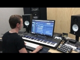 Andrew Rayel Working in the studio on a new track