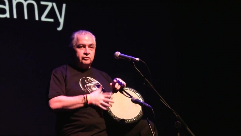 Hossam Ramzy Egyptian Percussionist Analogue to Digital Music Expo 2013