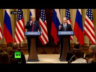 Желаемое за действительное: как западные СМИ преподнесли слова Путина о победе Трампа на выборах