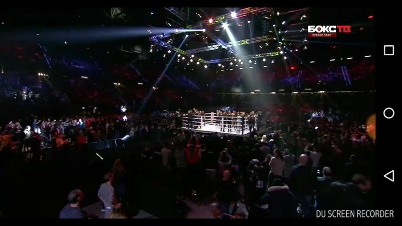Glory Redemtion Рико Верховен против Джамала Бена Саддика - 5 раунд