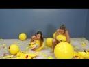 Madison n Julie Deflate and Destroy Emoji Beach Balls HD