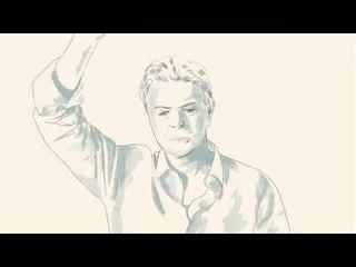 David Bowie - Valentine's day. Ротоскопинг (rotoscoping)