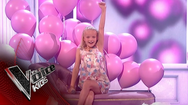 Lilia Performs 'Something's Got A Hold On Me' The Final | The Voice Kids Uk 2018