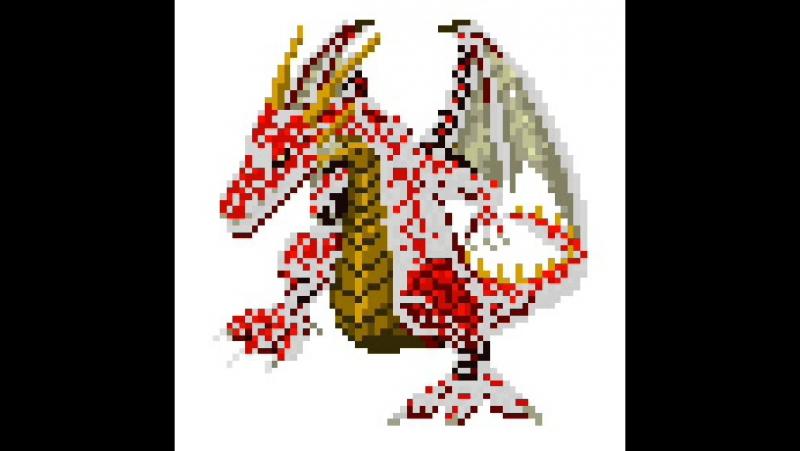 Раскрашиваем Дракона