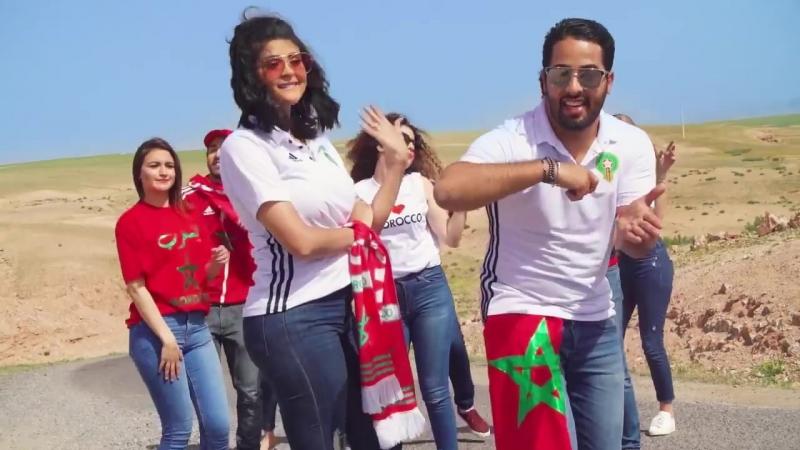 CRAVATA ft SALMA RACHID - Russia 2018 MOROCCO 🇲🇦🏆 كرافاطا سلمى رشيد - الطر