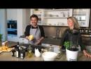 Thomas Anders: ...frische Birne für mein Birnen-Basilikum Sorbet 🍨