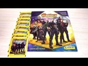 PANINI Мстители Война бесконечности Обзор альбома и первые наклейки