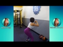 SARAH ANTONINI _ Lower Body Workout - Glutes, Quads Hamstrings PART 2 @USA- Be