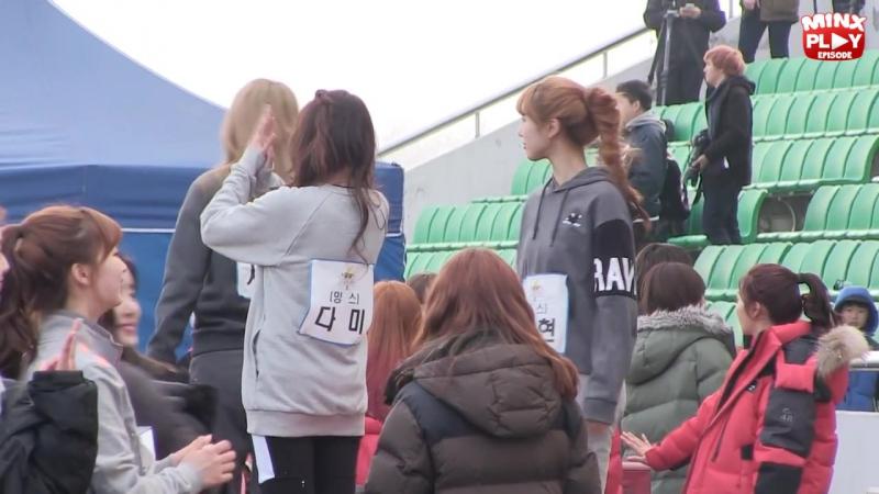 """밍스 플레이 에피소드 - 밍스 드림팀 촬영 스케치 (Minx Play Episode - Minx KBS """"Dream Team"""" Shooting Sketch)"""