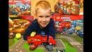 Тачки 3 Лего Мультики про Машинки Собираем Молнию Маквина Играем Вместе