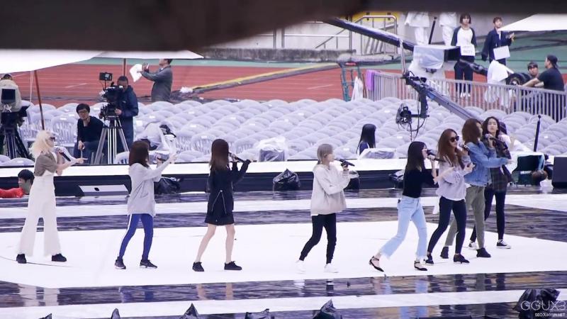 161001 SNSD gee Rehearsal fancam 소녀시대 Gee 리허설 직캠
