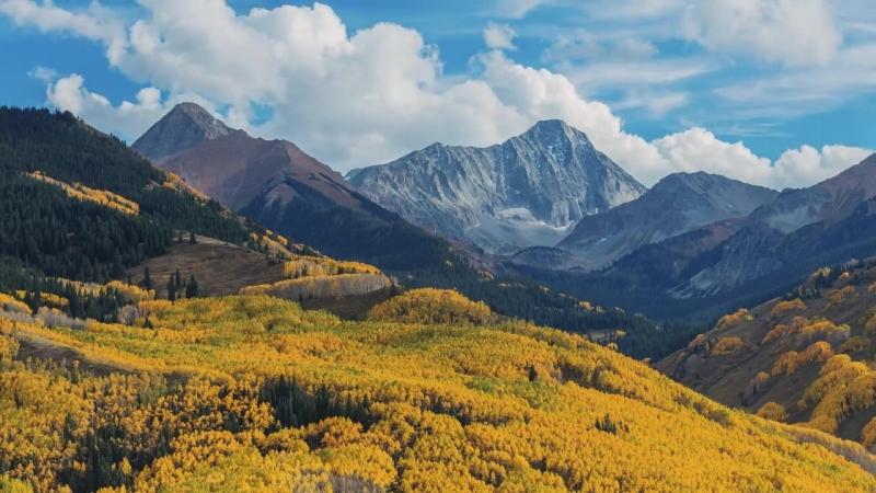Колорадо A Slice of Colorados Autumn